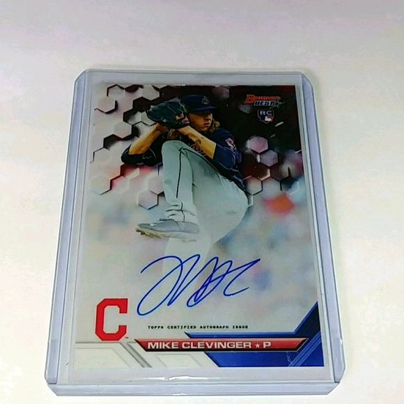 Mike Clevinger Rookie auto B16-MCL